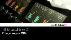 Edycja zapisu MIDI