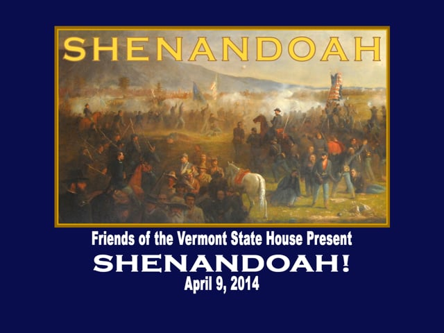 Shenandoah Presentation at the Vermont State House