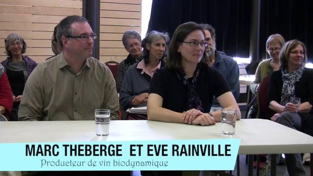Eve Rainville et Marc Théberge