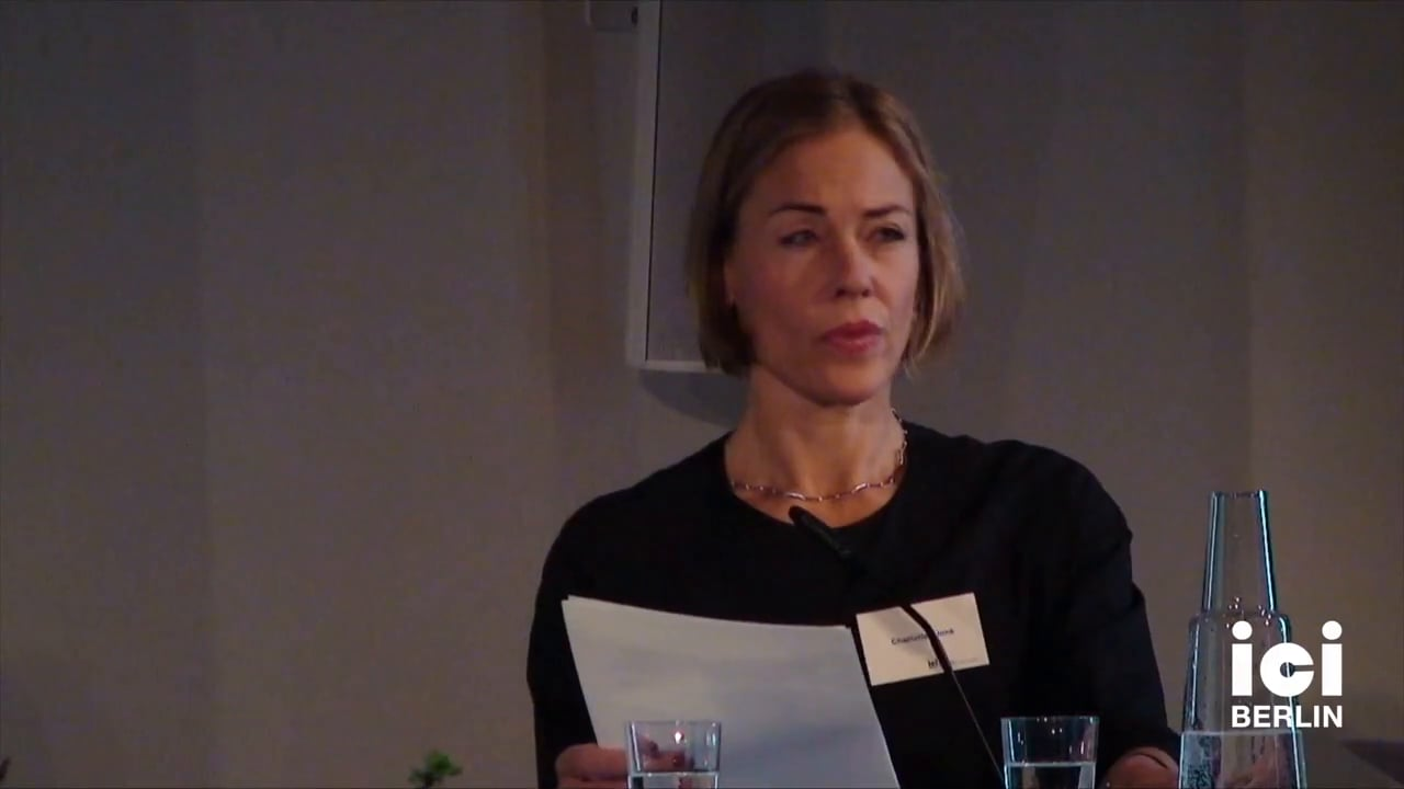 Welcome by Charlotte Klonk [1]