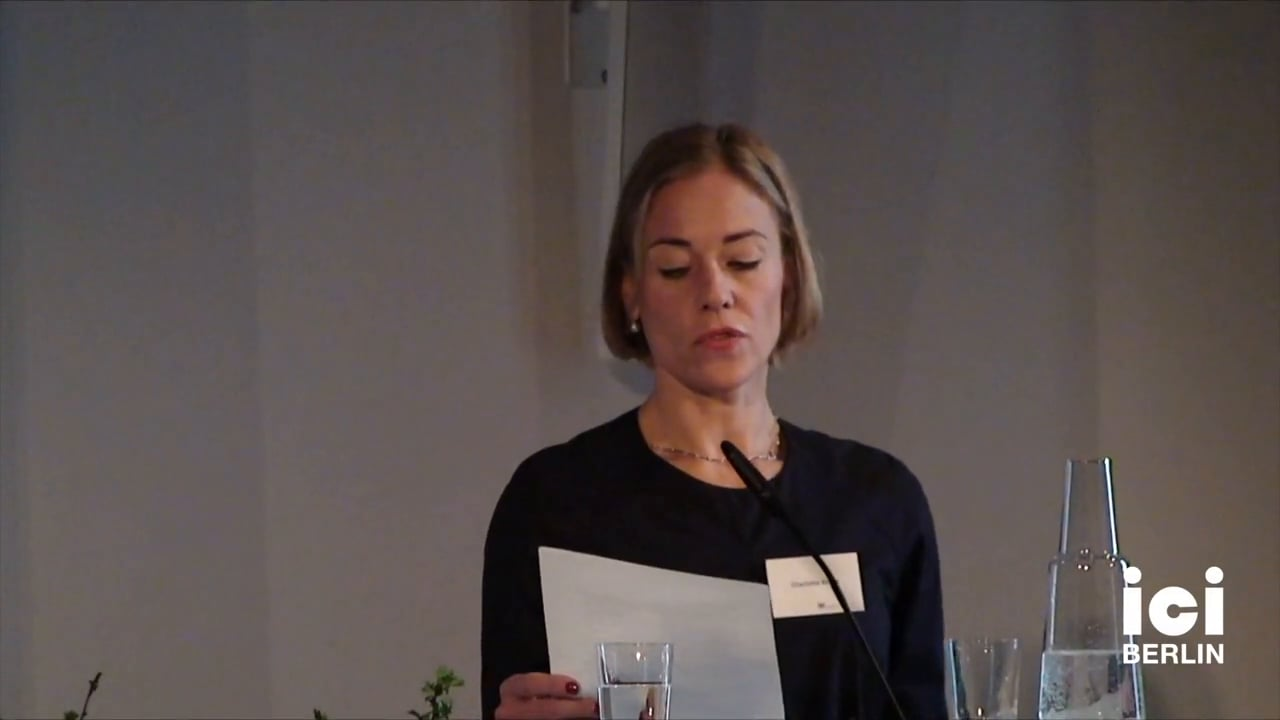 Introduction of W.J.T. Mitchell by Charlotte Klonk [4]