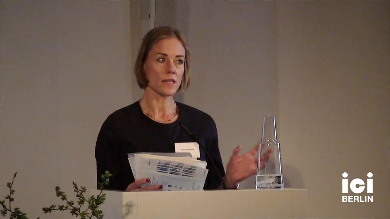 Introduction of Marie-José Mondzain by Charlotte Klonk [7]