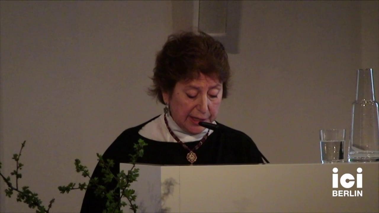 Lecture by Marie-José Mondzain [8]