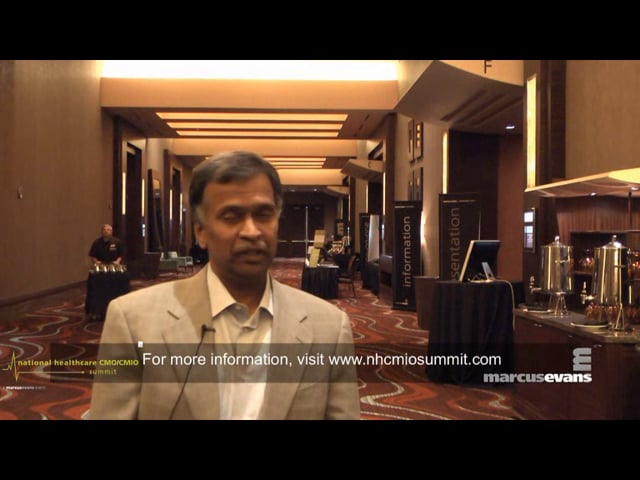National Healthcare CMO/CMIO Summit - Interview: Udai Kumar, OHUM Healthcare Solutions