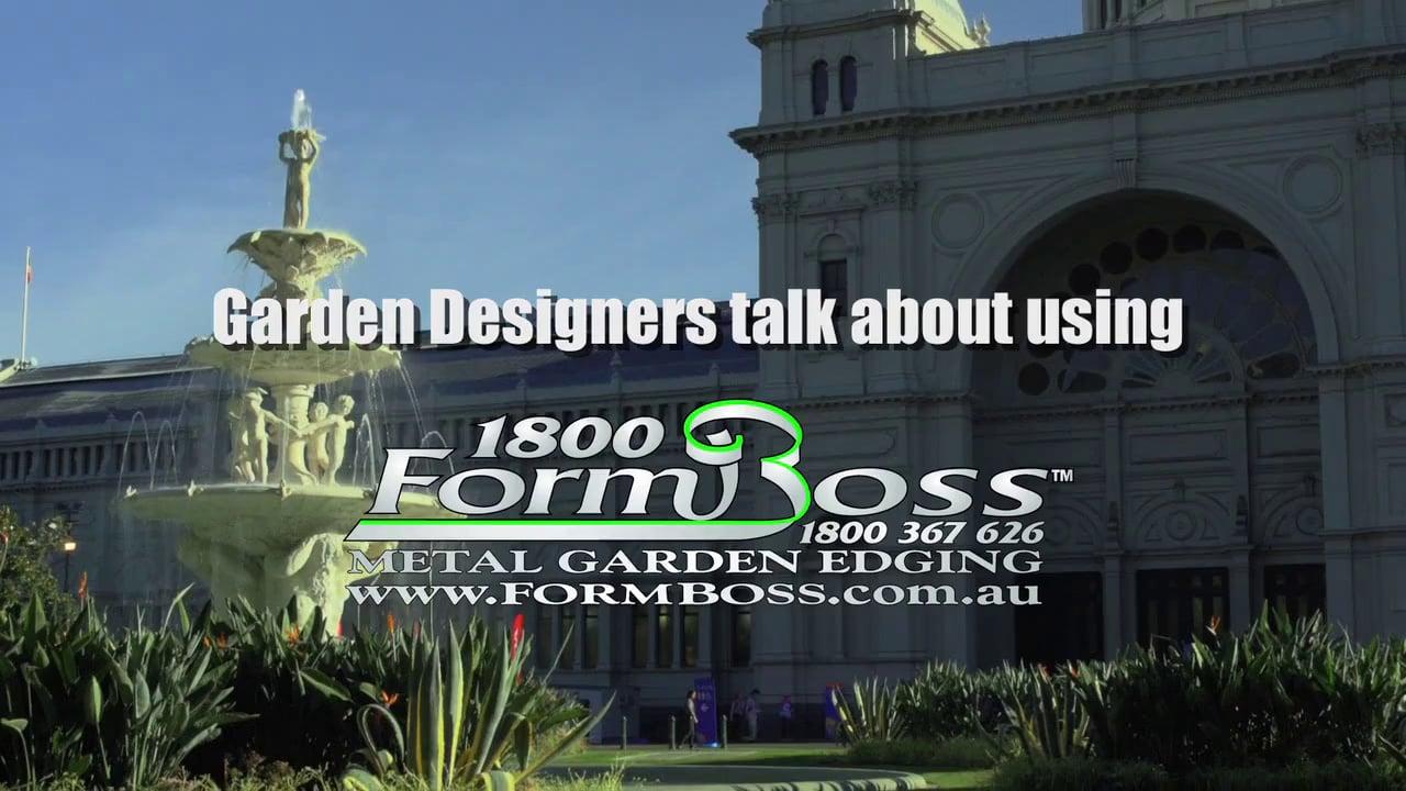 FormBoss Metal Garden Edging at MIFGS 2014
