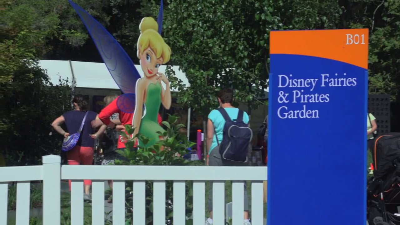 Disney Fairies and Pirate Garden' by Candeo Design MIFGS 2014
