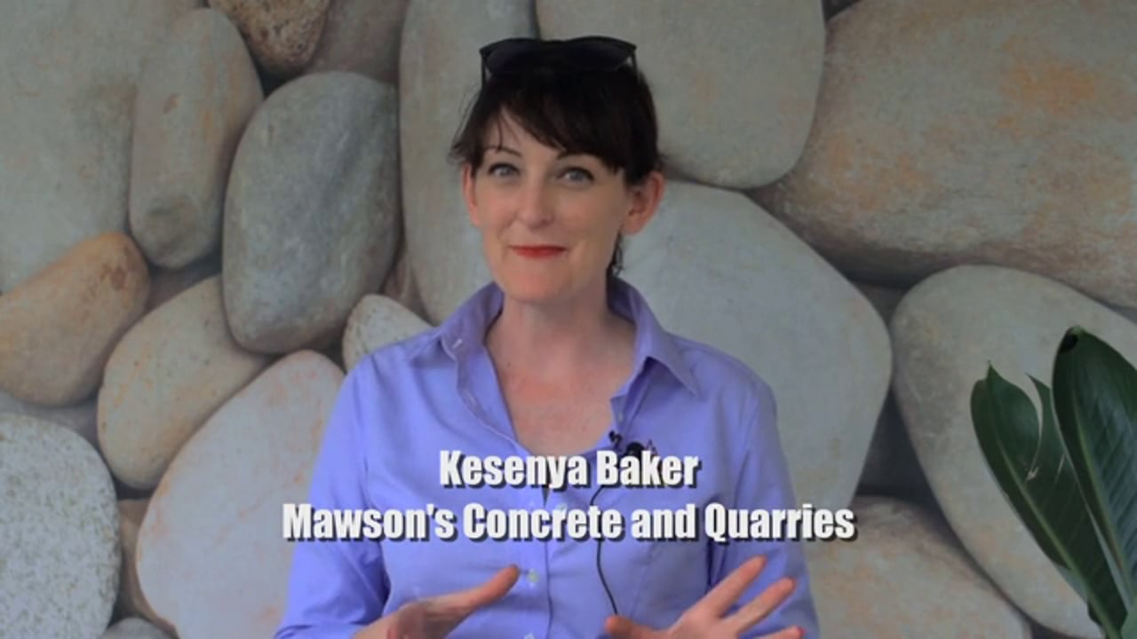 Mawsons Concrete and Paving at MIFGS 2014