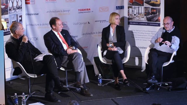 """Architecture and Design Film Festival- Panel """"Preserving the Modern"""""""