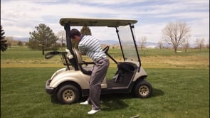 Golf Cart Transition Pump - Feel A Body Led Downswing
