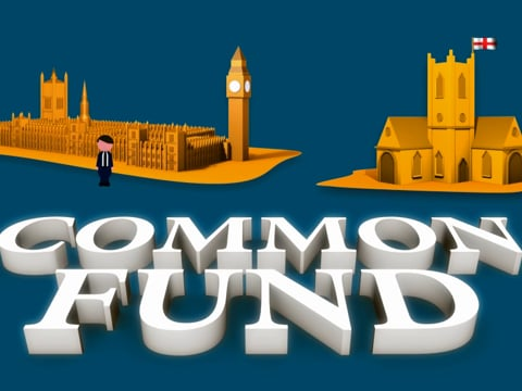 How is the Diocese of London funded?