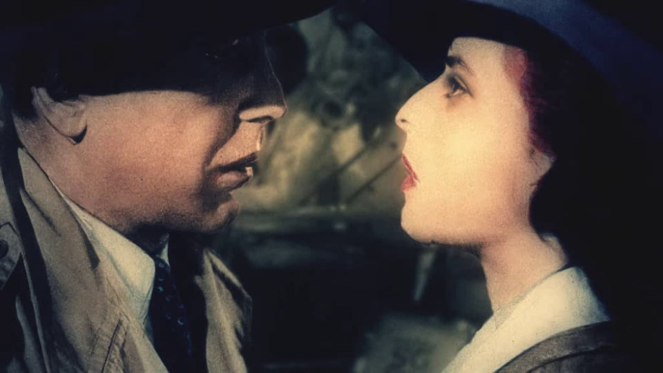 Cut out animation ''Casablanca'' remake