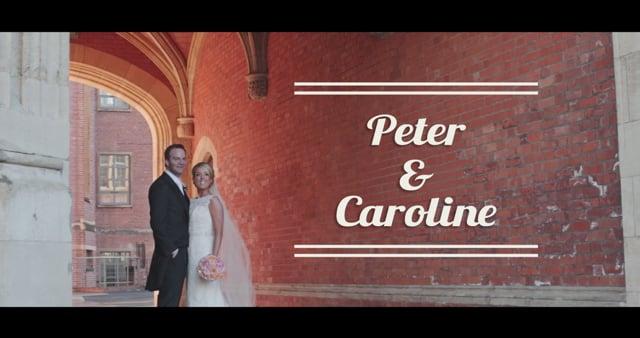 Peter & Caroline Wedding Highlights