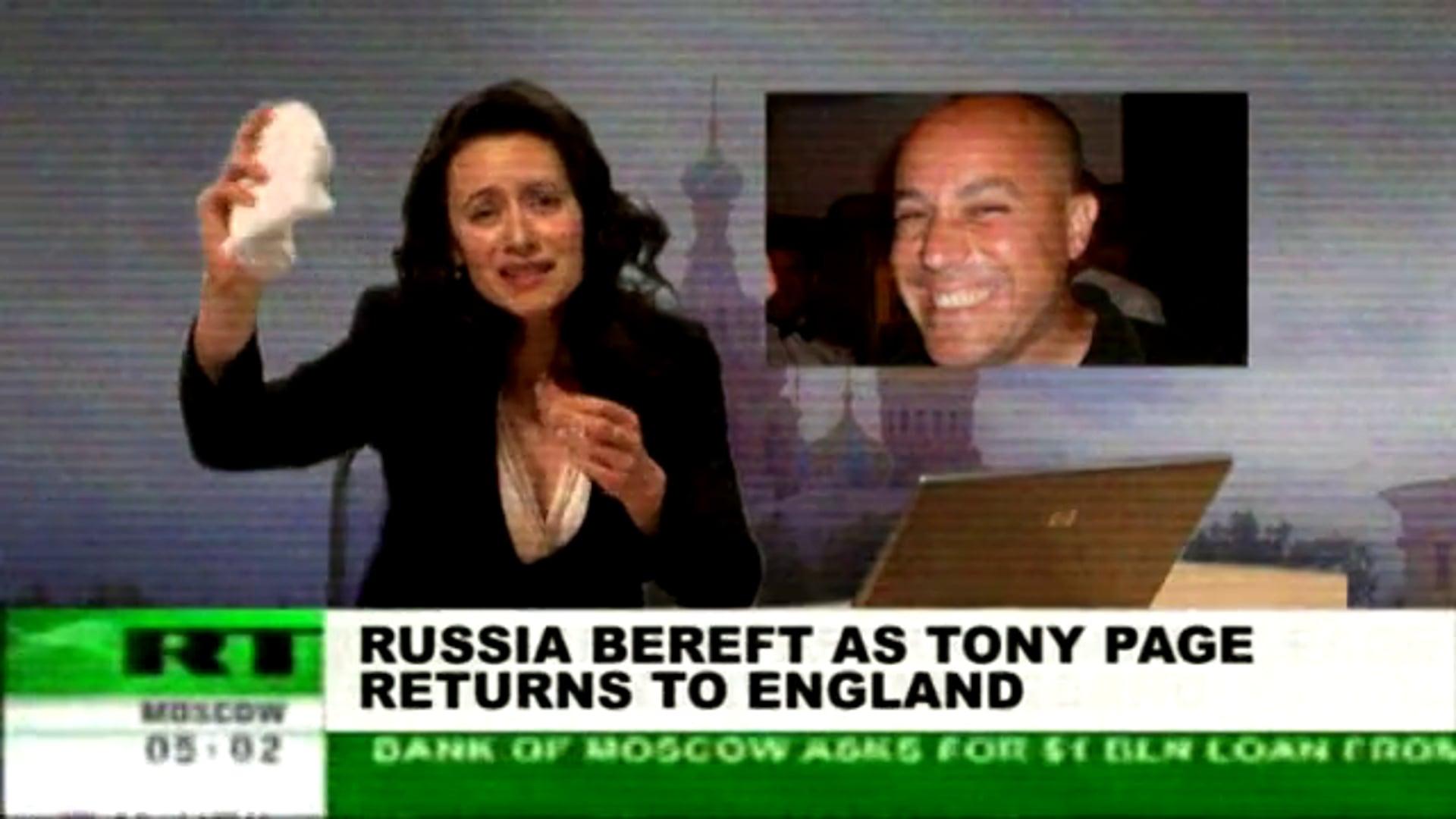 Lloyds Spoof Russian Newscast