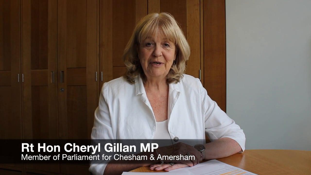 Academy Graduation - Rt Hon Cheryl Gillan MP message