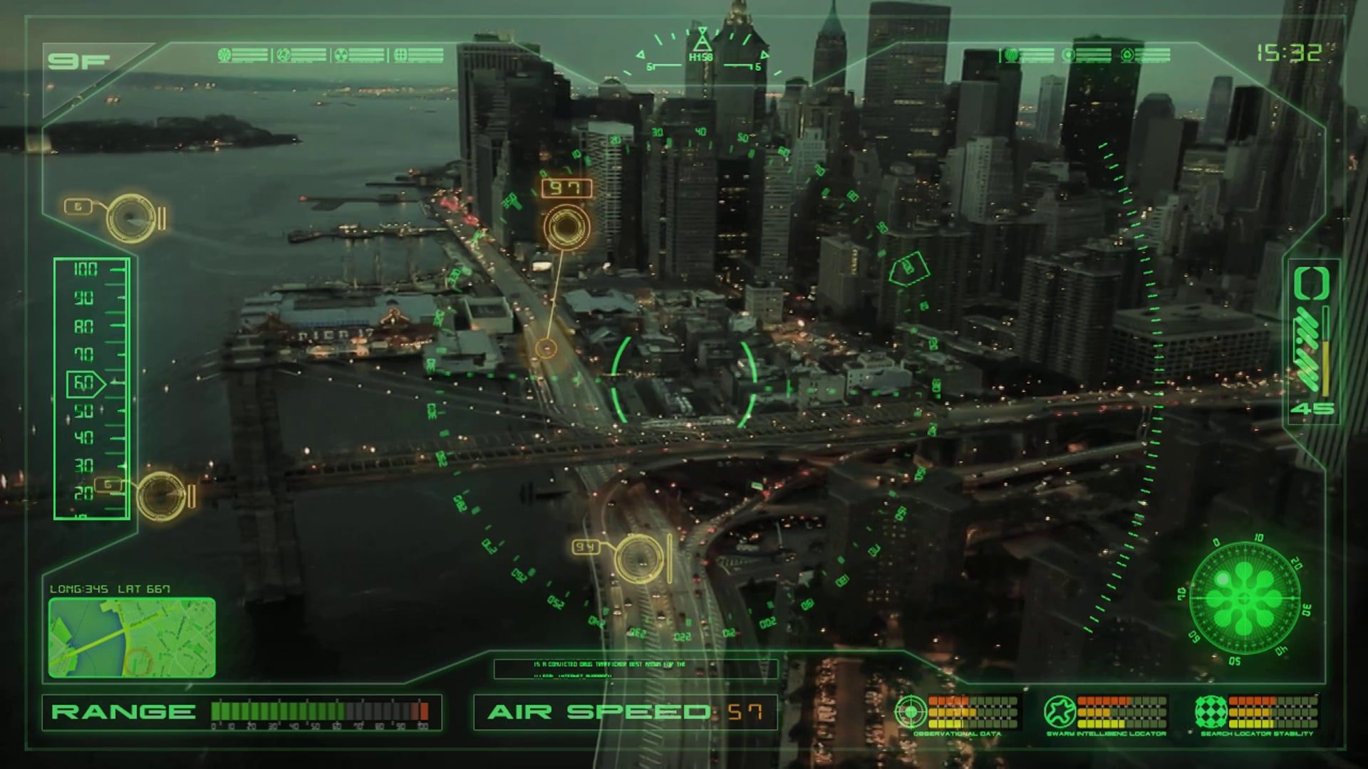 Drone HUD