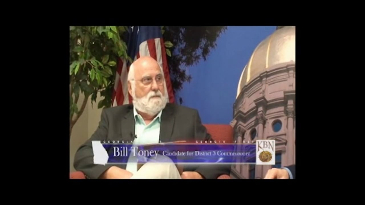 Georgia First - Bill Toney May 2014