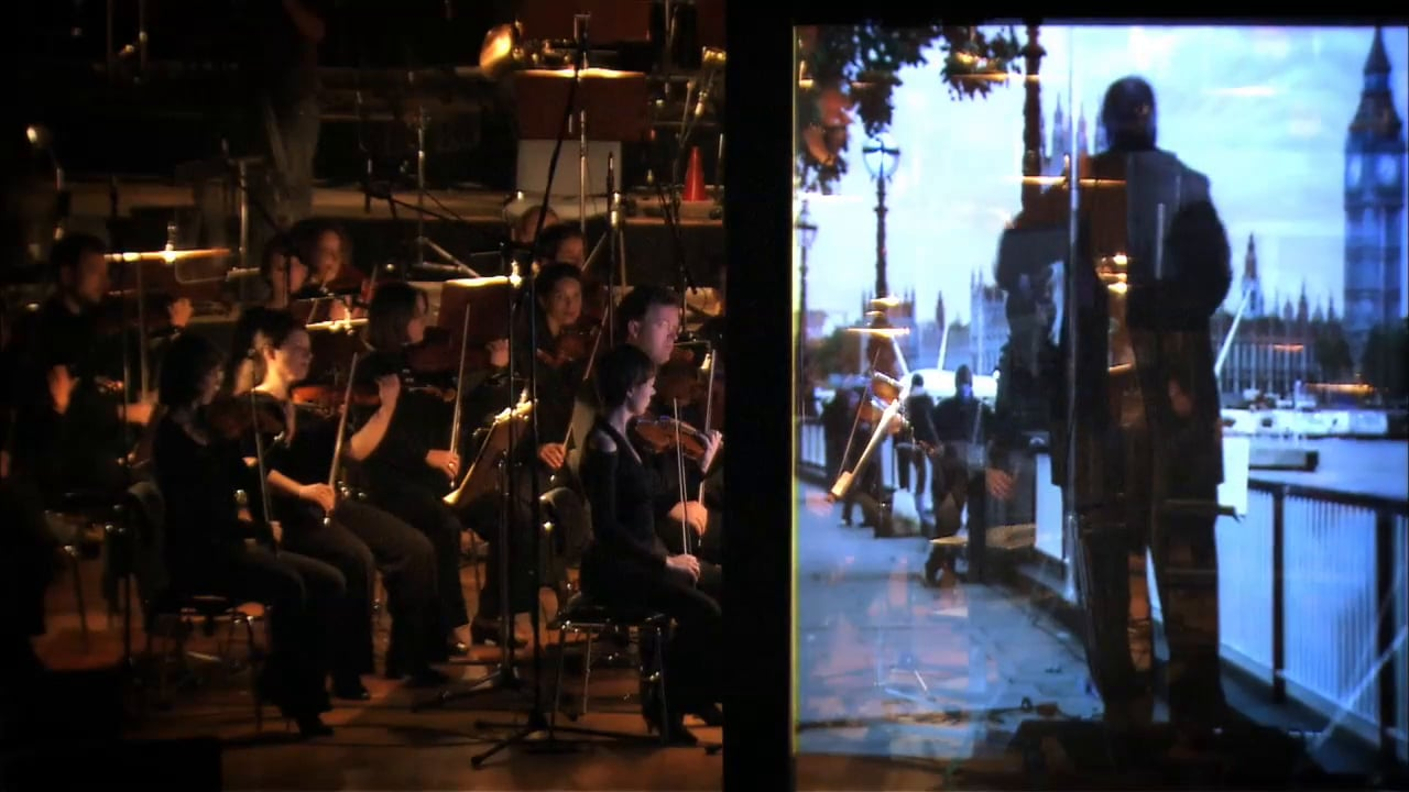 The world's first remotely conducted orchestra - extended version