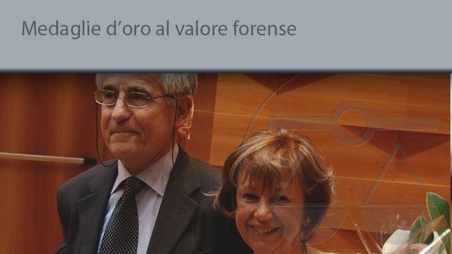 Medaglie d'oro al valore forense - 19/5/2014