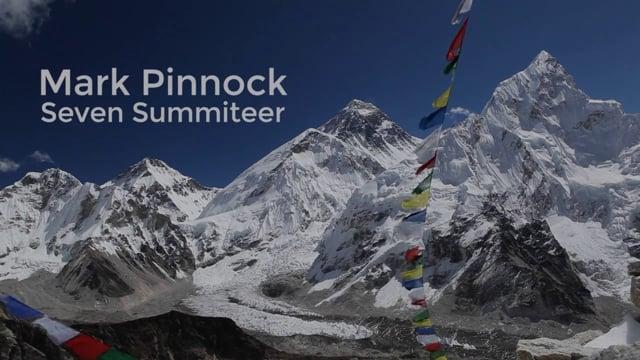 Mark Pinnock - Seven Summiteer