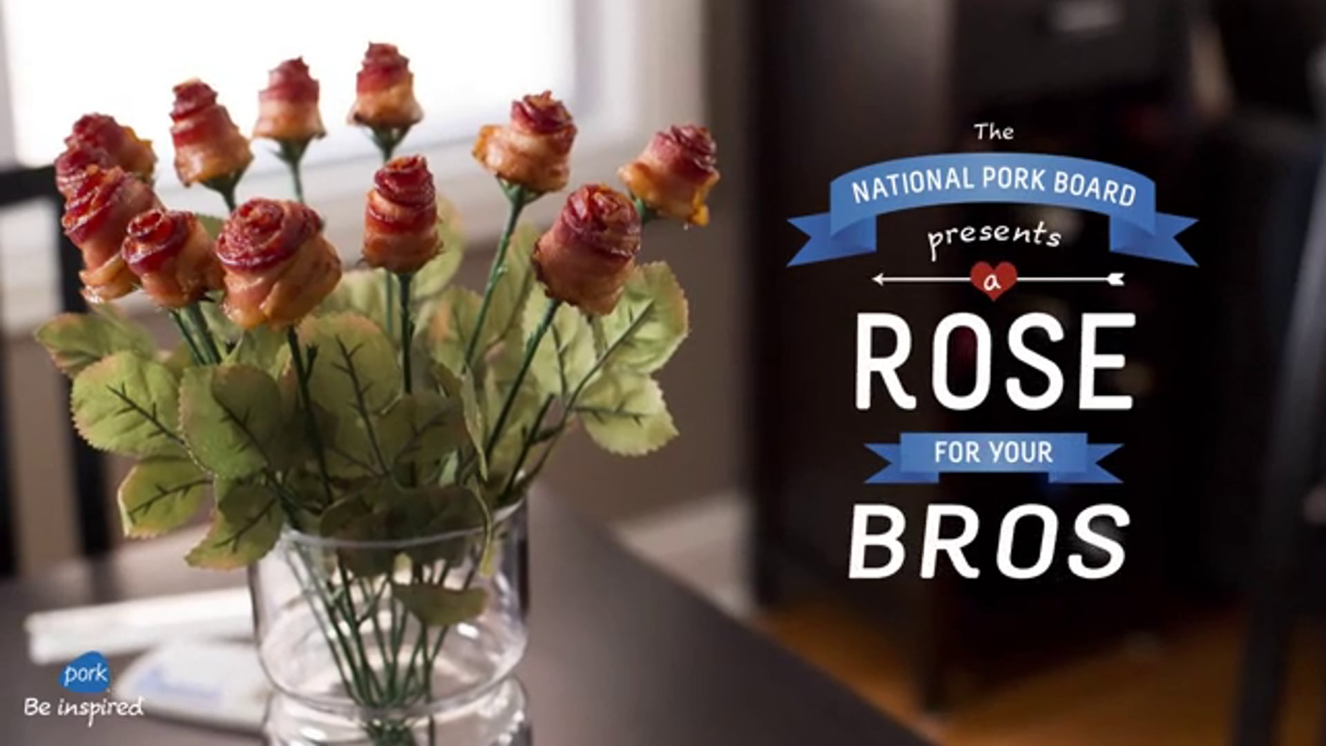 Social Campaign - National Pork Board: A Rose for Your Bros