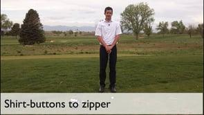 Shirt Buttons To Zipper
