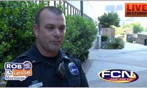 Policeman Saves Birthday For Little Boy
