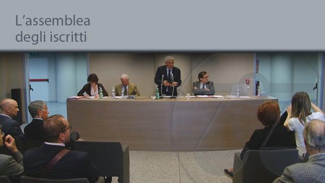 L'assemblea degli iscritti - 30/5/2014