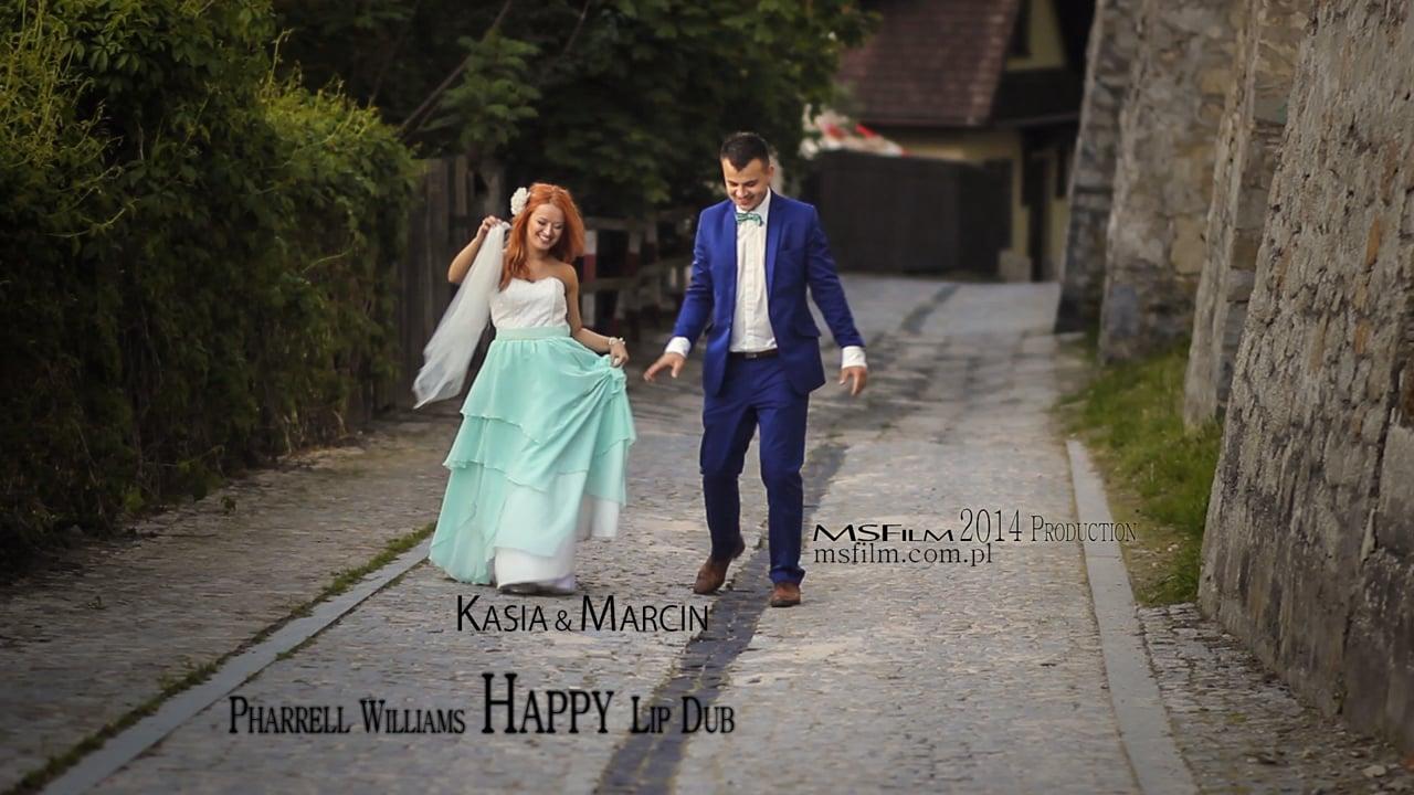 Kasia & Marcin | MSFilm: Happy - Lip DUB
