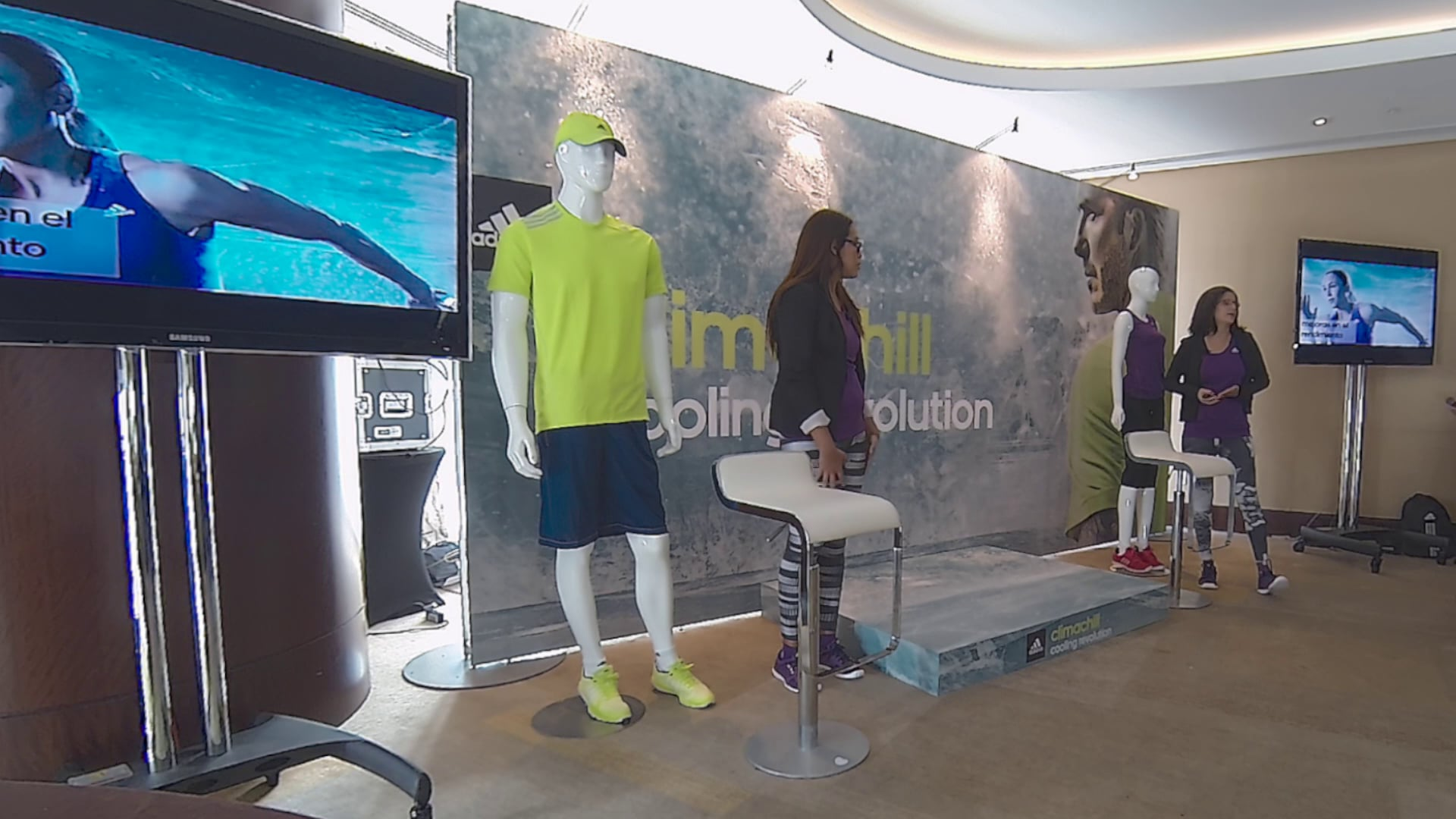 Adidas Climachill product launch for Latin America division - Miami - video recap - event produced by Impacten Media