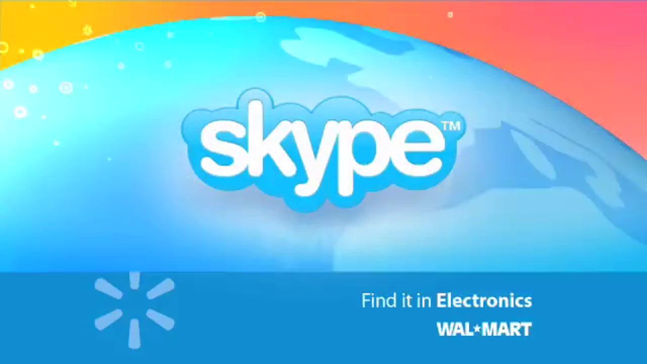SKYPE / WalMart Commercial