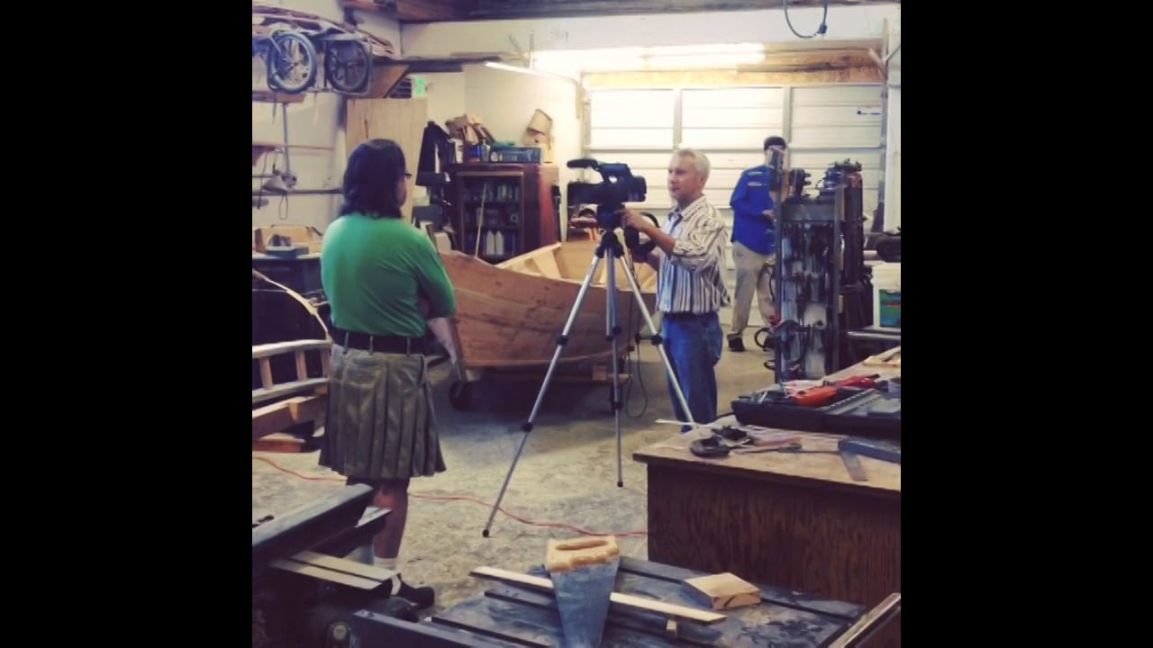 Behind the scenes @ boat building center