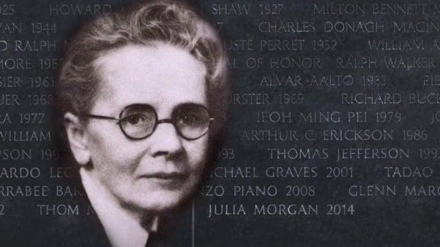 Julia Morgan aia gold