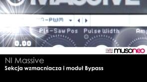 Sekcja wzmacniacza i Bypass