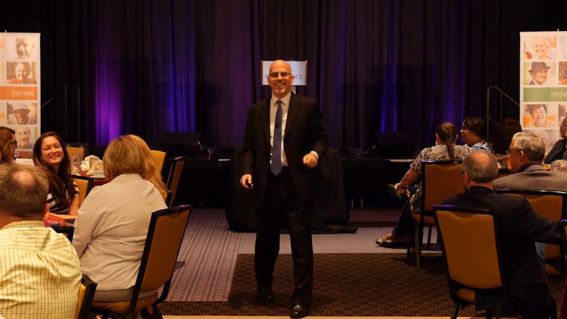 Leadership training with Dr. Joe Serio