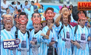 The Craziest World Cup Fan Photos