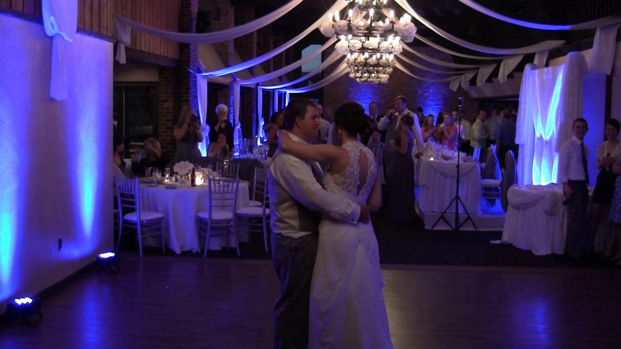 Lakeview Lodge Wedding - Josh and Christina