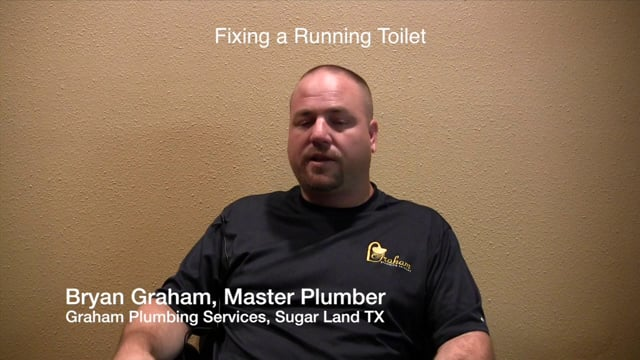 Fixing a Running Toilet  - Graham Plumbing Services