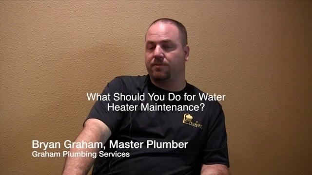 Water Heater Maintenance Tips - Sugar Land Metro Houston - Graham Plumbing