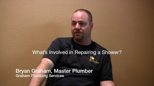 What's Involved in Shower Repairs - Sugar Land Plumbers - Graham Plumbing Services