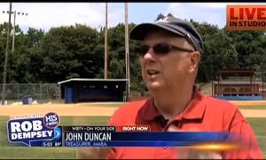 Lightning Deteting System Needed at Baseball Feilds