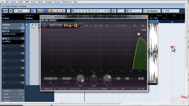 Filtry w produkcji muzycznej