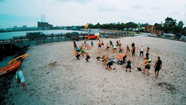 Tahi Wilson Bootcamp - Funktionel Strandworkout