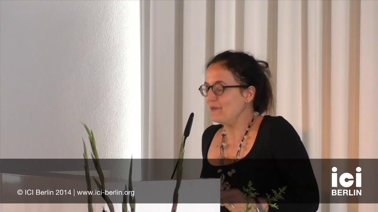 Lecture by Sara Fortuna [5]