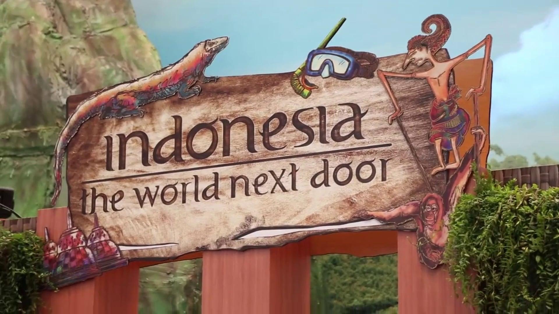 Indonesia : The World Next Door.