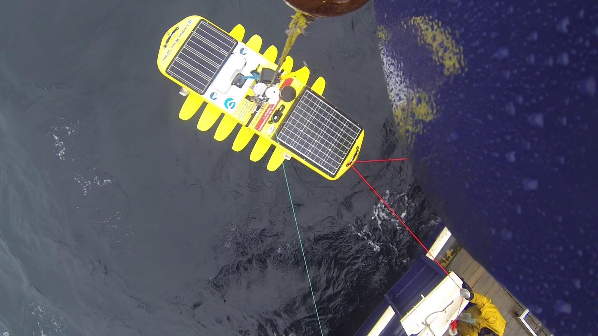 PMEL Wave Glider Operations Alaska