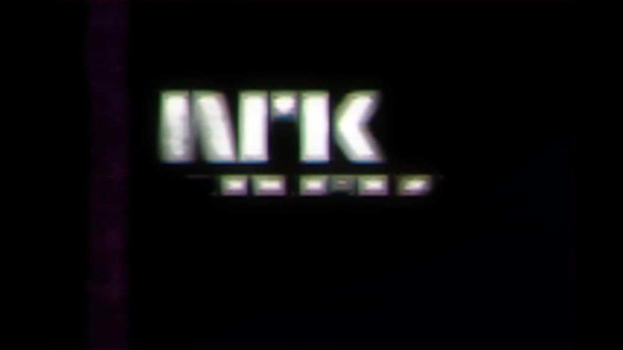 NRK logo glitsj med vhs effekt