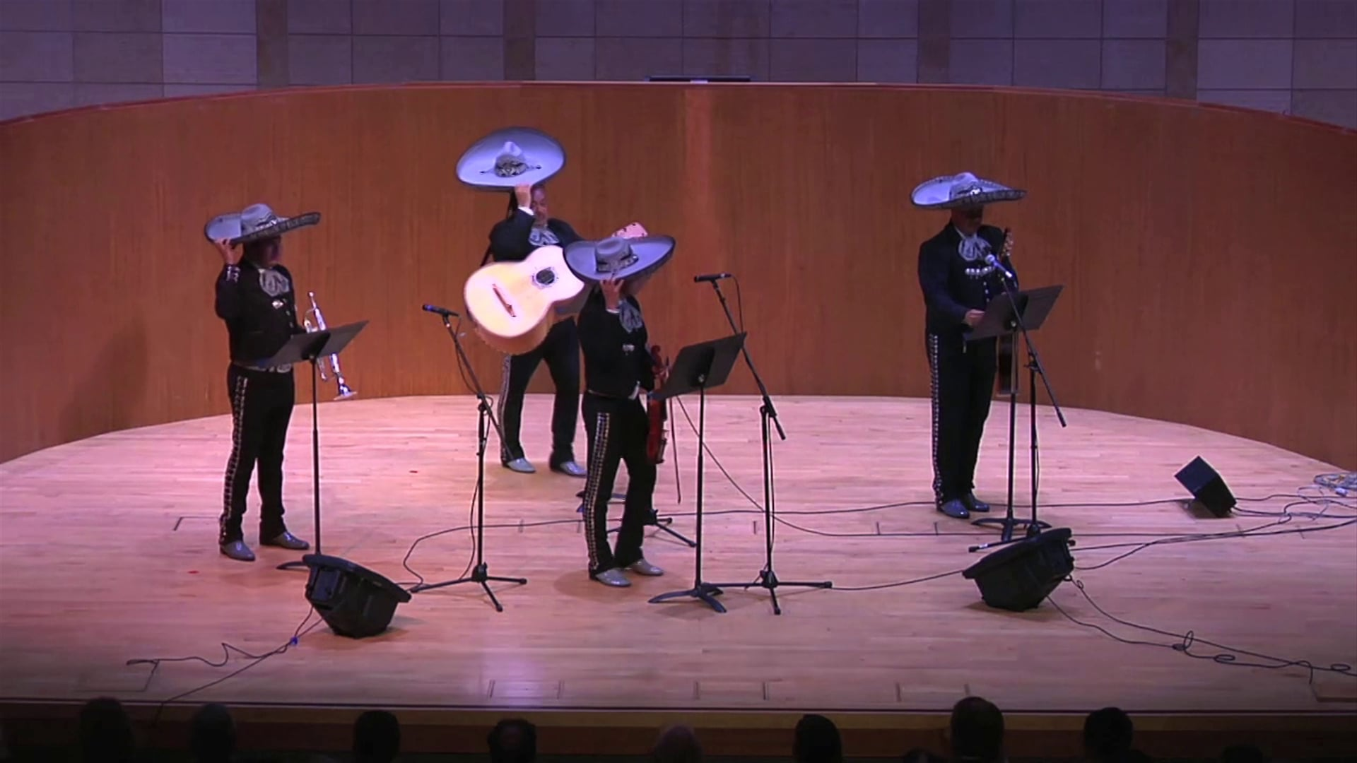 John Cage Variations II performed by a Mariachi Band