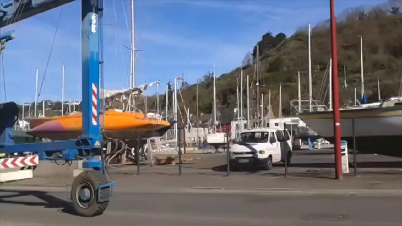 De St Jacut a Brest