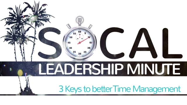 3 Keys to better Time Management