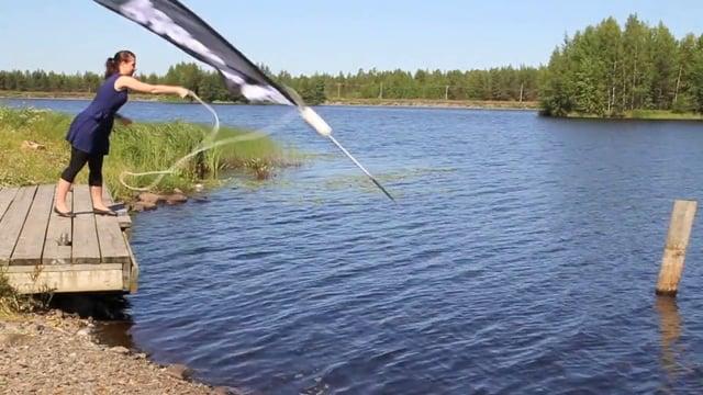 Norppa Floating Beachflag